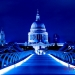 Corporate Photography London Night St Pauls Millennium Bridge