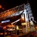 Civil Engineering Photography Colas M25 Gantry erection night