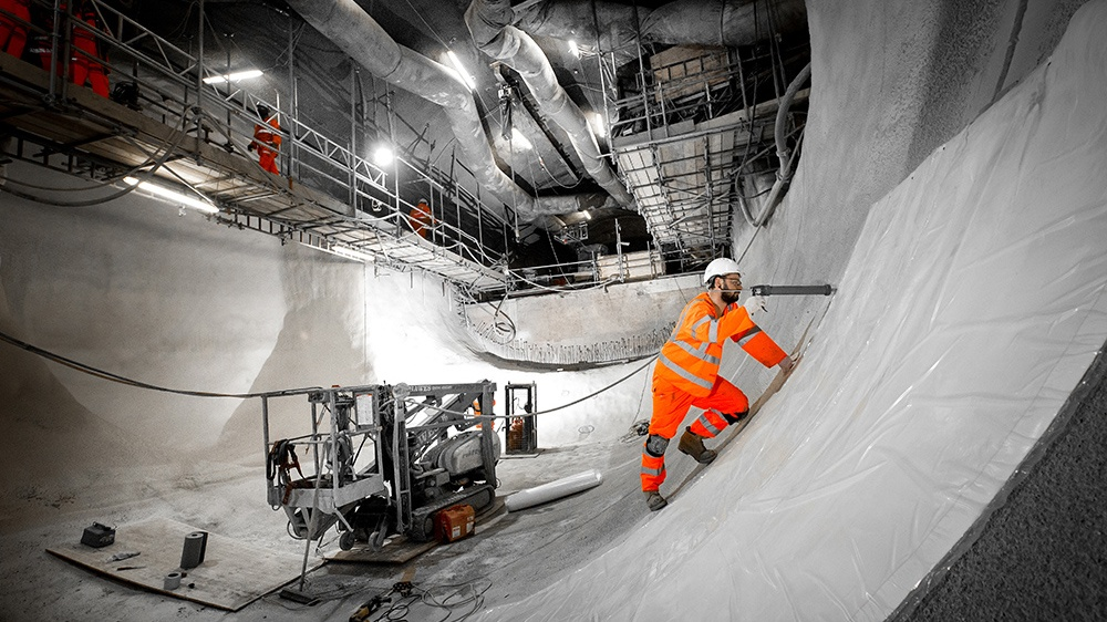Image 2 Photography – Crossrail tunnel