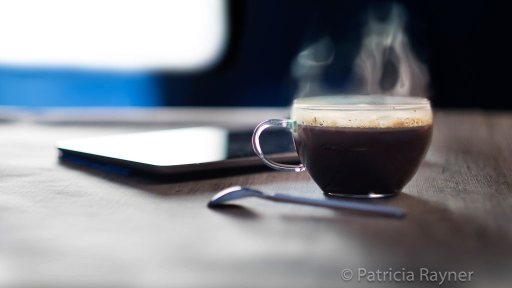 Stylistic coffee shot
