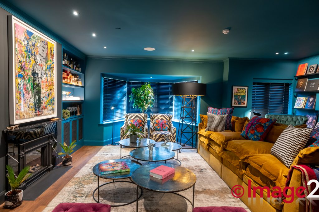 Exuberant Interior London Home