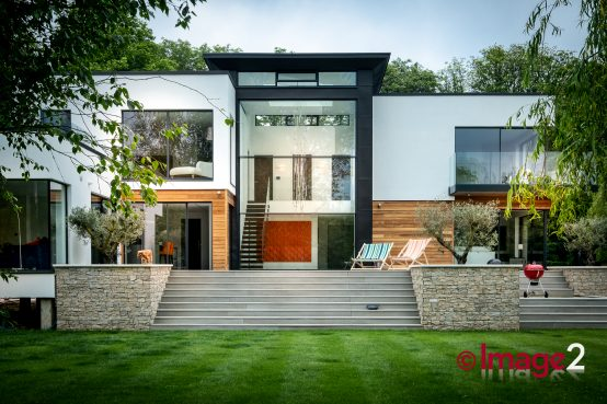 Fabulous modern home featuring fabulous glazing solutions