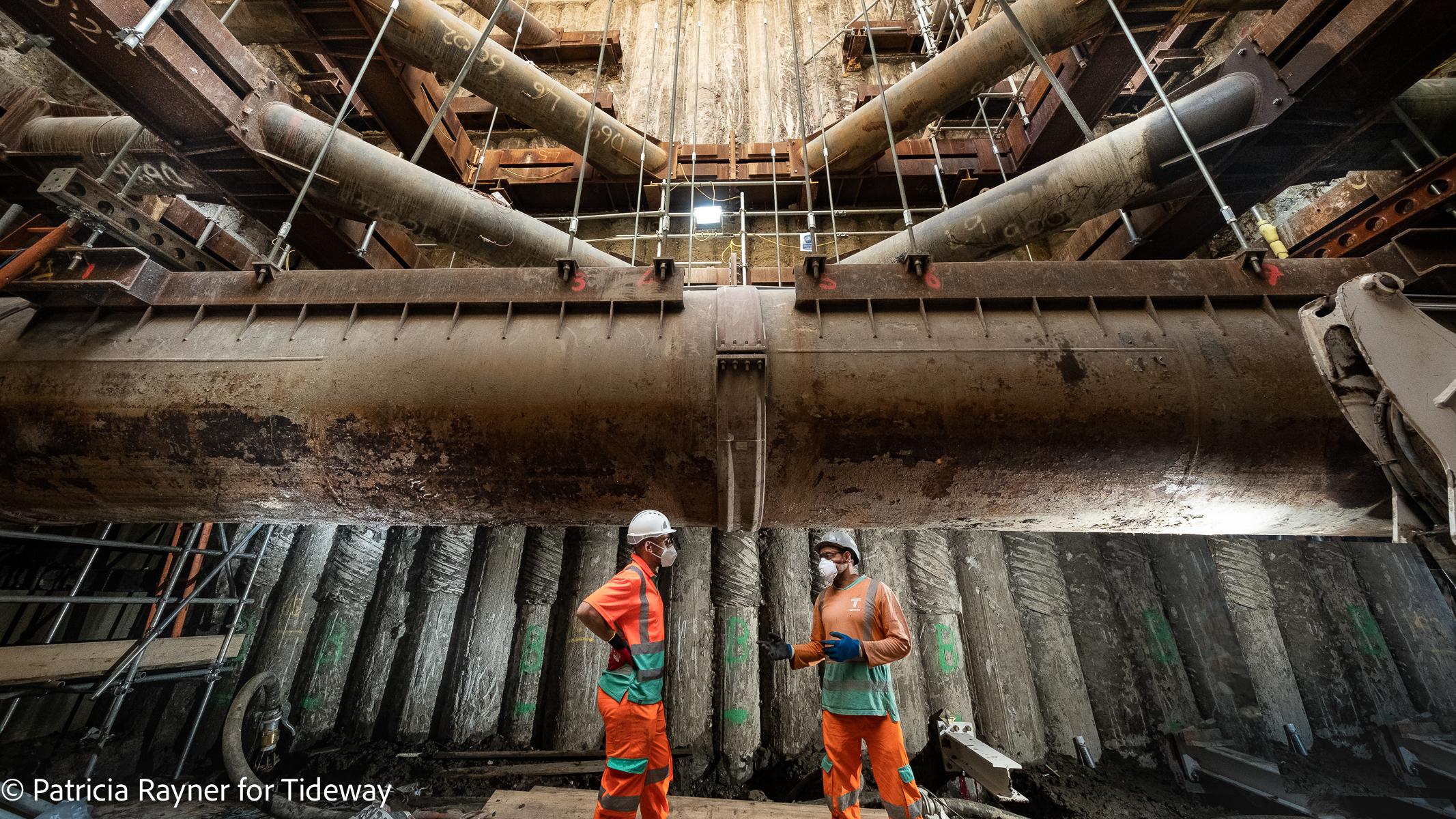 Tideway Construction Tunnel